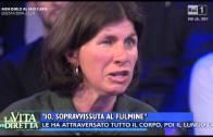"""Milena Bethaz a """"La vita in diretta"""""""